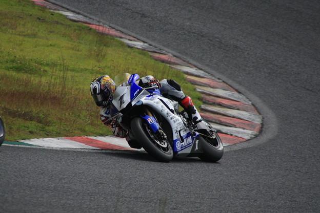 #1 YAMAHA FACTORY RACING TEAM/中須賀克行選手09