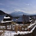 写真: 根場の冬景色