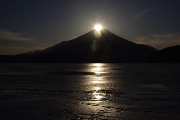 写真: 山中湖ダイヤモンド