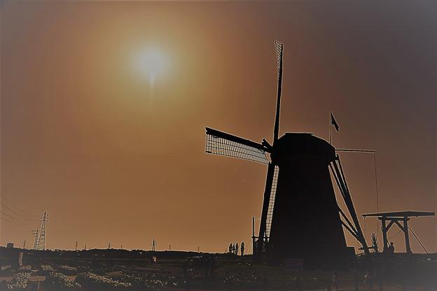 オランダ風車のある街・02
