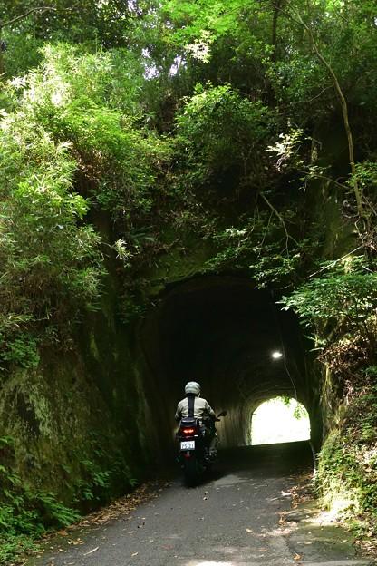 Photos: 手掘りトンネル・05