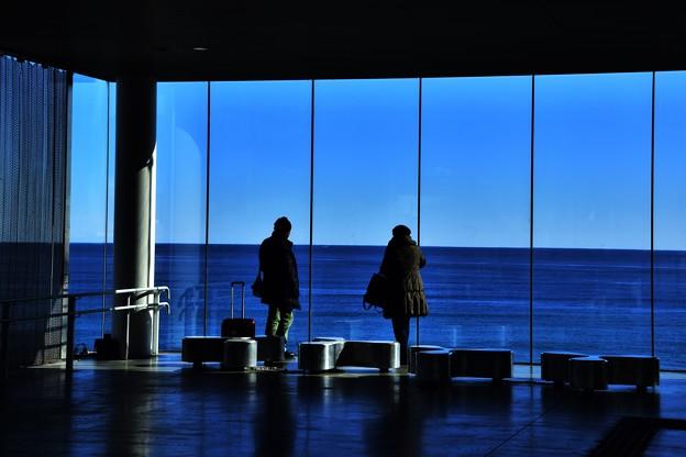 冬~海の見える駅・01