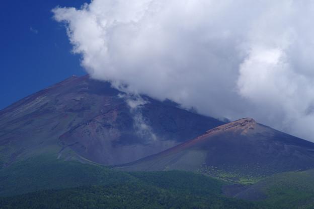 夏、富士山