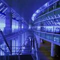 写真: 品川駅港南口界隈-17_in blue