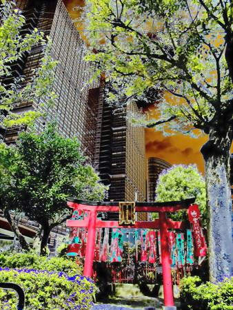 metropolis_北品川界隈-01豊川稲荷_稲荷堂b