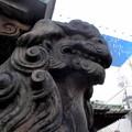 Photos: 品川駅高輪口界隈_高山(稲荷)神社-06狛犬b(吽)