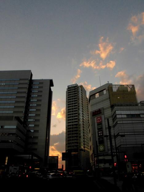 夕焼け(目黒駅)_2015.10.13.-02