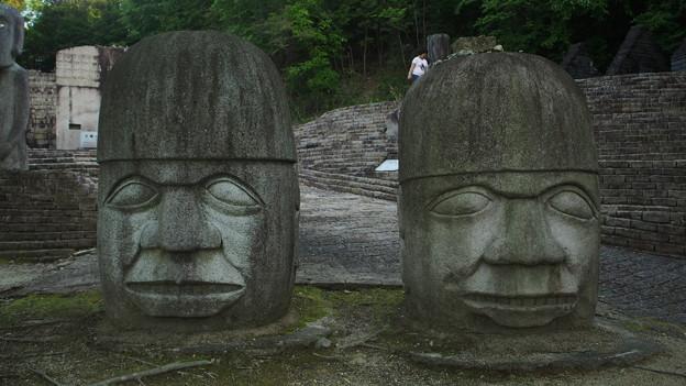太陽公園 石のエリア (4)