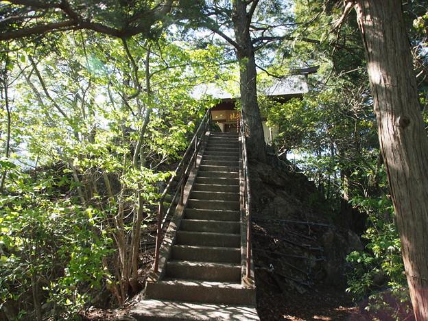 愛宕神社(標高507m)
