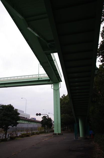 大井北埠頭歩道橋