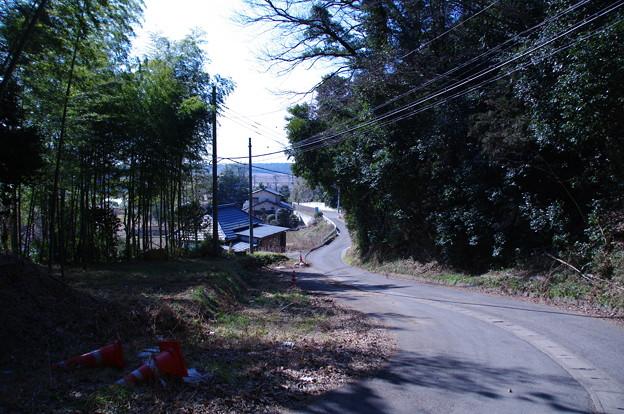 谷戸の坂道