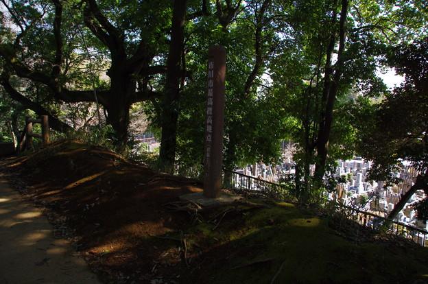 市川市最高標高地点(標高30.1m)