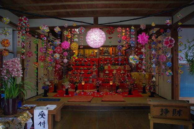 武山不動院の雛祭り