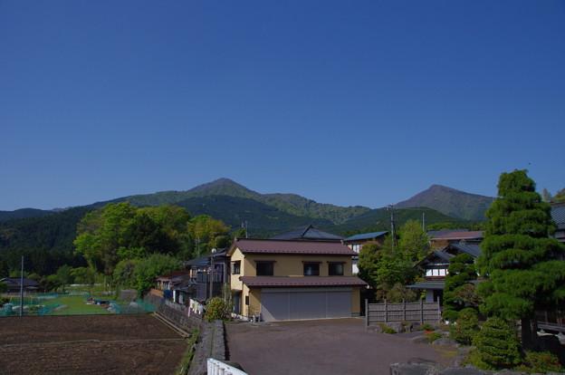 越前岳と位牌岳