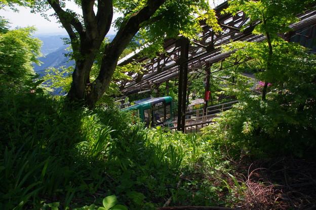 御岳登山鉄道ケーブルカー