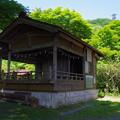 城峯神社の舞台