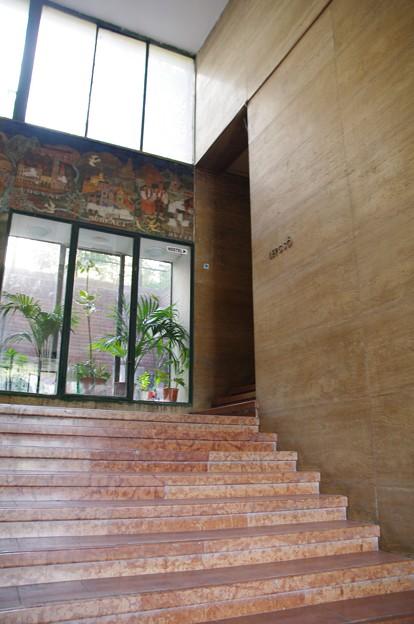 アブソルートシティホステルの入り口