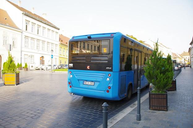 ブダペストの市バス16
