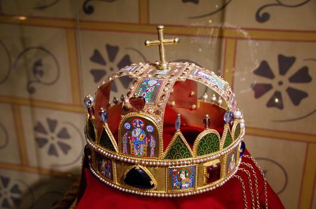 ハンガリー王の王冠のレプリカ