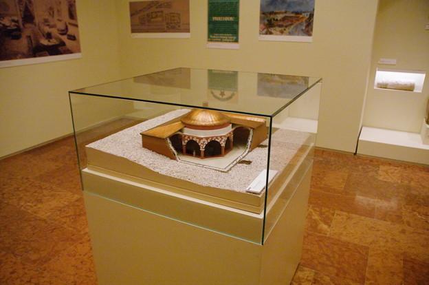 ブダペスト歴史博物館に有った温泉の模型