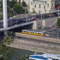写真: ブダペストのトラム