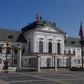 写真: スロバキアの大統領官邸