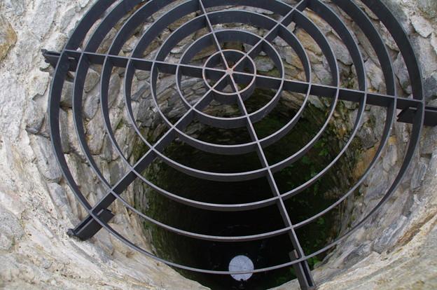 ブラチスラヴァ城の井戸
