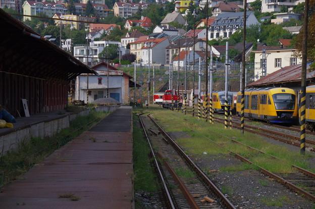 ブラチスラヴァ駅の留置線