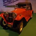 写真: 技術博物館の展示