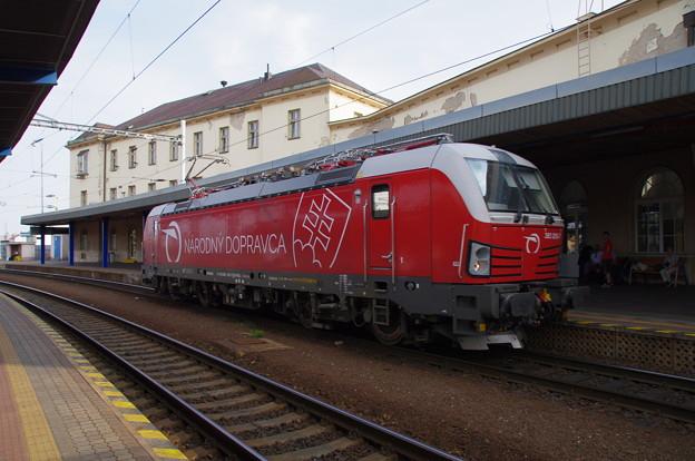ブラチスラヴァ駅にて