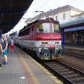 写真: ブラチスラヴァ駅にて