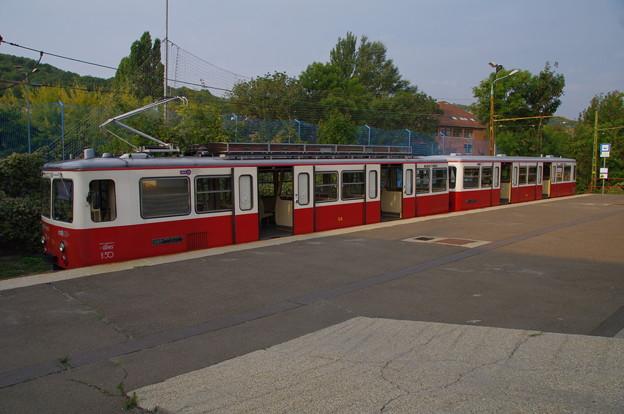 ブダペストの登山電車