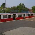 写真: ブダペストの登山電車