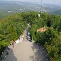 写真: エルジェーベト展望台から