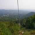 写真: ヤーノシュ山のリフトから