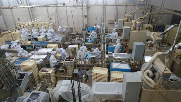 桔梗屋の工場