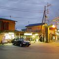 上総牛久駅前の夜景
