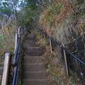 Photos: 鋸山の道