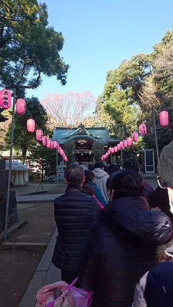 中野氷川神社(初詣)
