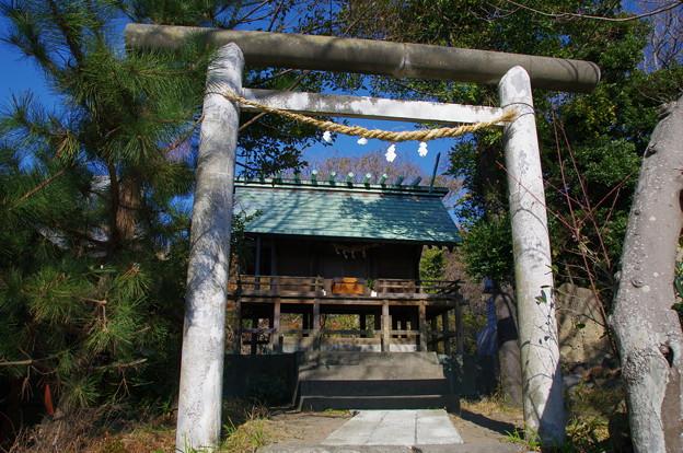 Photos: 森山神社の神明社