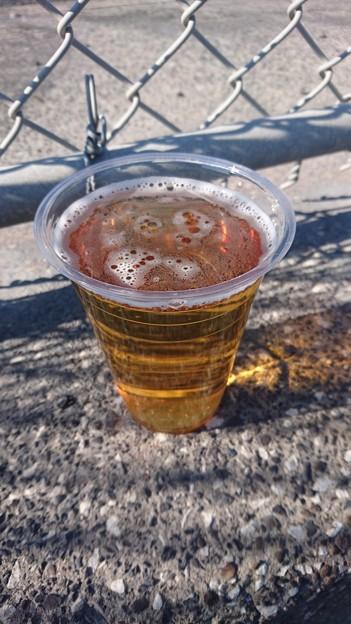 横田基地の生ビール
