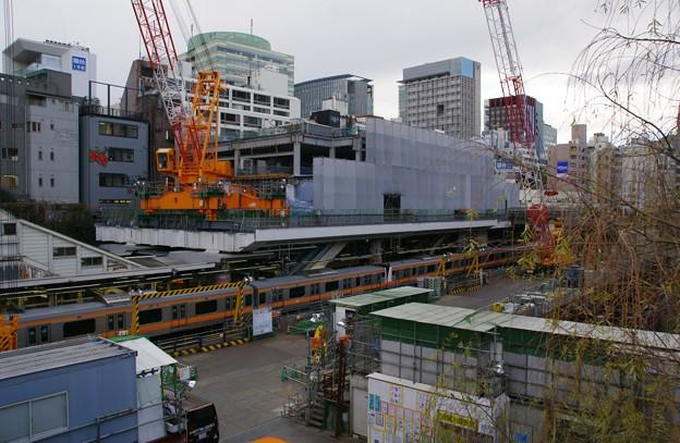 御茶ノ水駅の工事