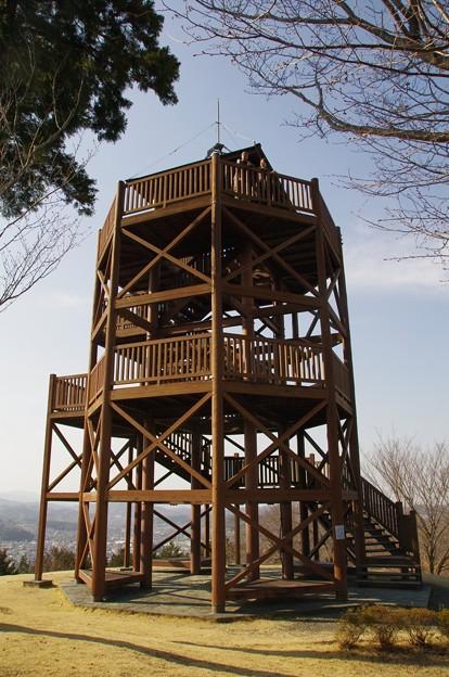 仙元山見晴らしの丘公園の展望台