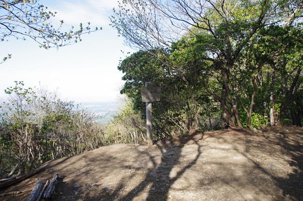 笠山頂上(標高837m)