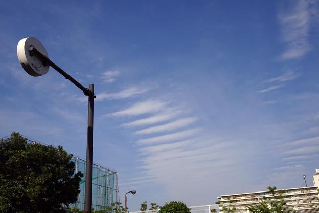 変った雲が~