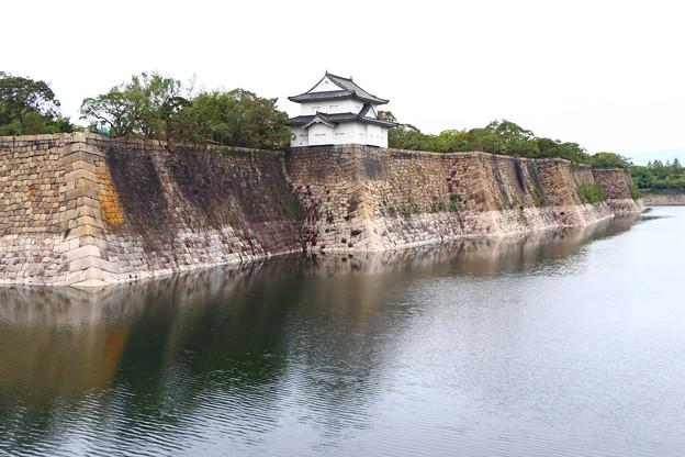 南外堀と六番櫓