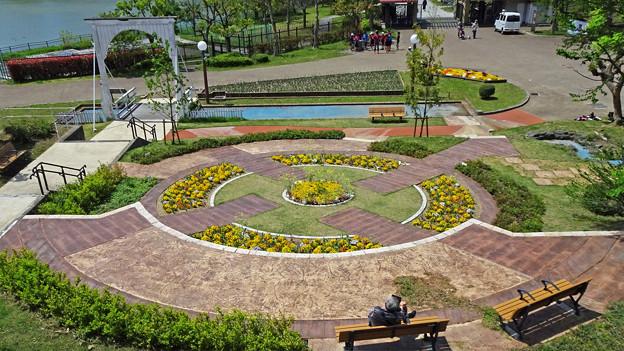 オランダ庭園跡