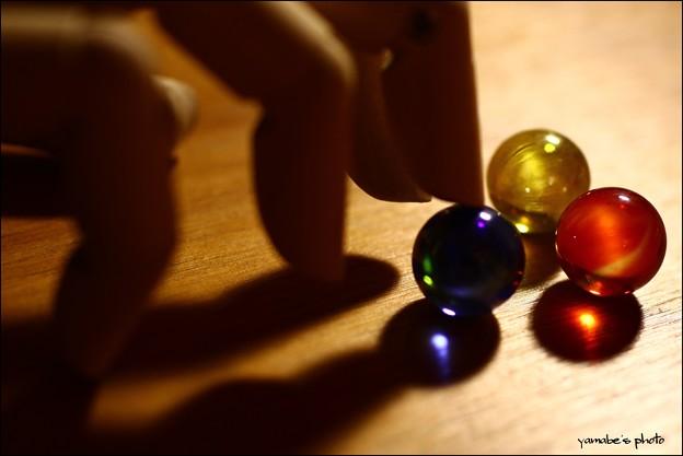 第139回モノコン ビー玉遊び