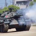 Photos: CIMG7226 大久保駐屯地創立記念行事その10・74式戦車の砲煙