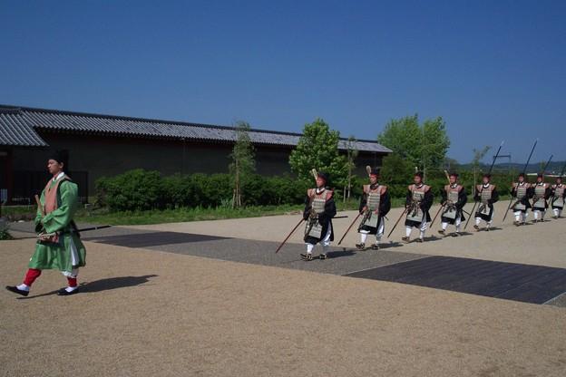 写真: 都の警備:平城京天平祭01